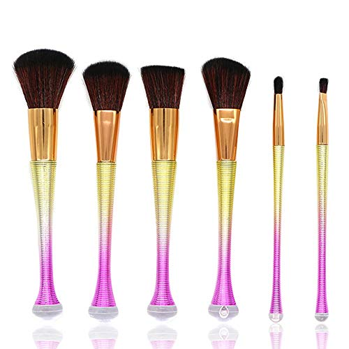 Licorne Maquillage Pinceaux Fondation Pinceau Correcteur Ombre À Paupières Coloré Mélange Premium Mélange Cosmétique Fard À Paupières Brosse Set Pinceaux à maquillage LTJHHX