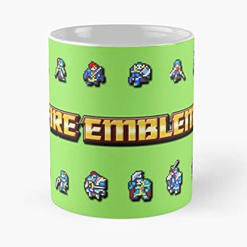 92Wear Fire Emblem Game Boy Advance Smash Bros Roy Lyn Eliwood Hector Eirika - Best 11 Ounce Ceramica Coffee Mug Gift