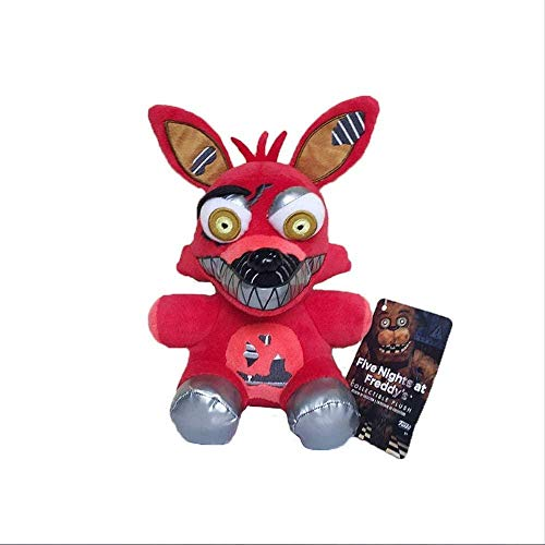 Five Nights at Freddy's FNAF Foxy Plush Toys 18 cm Pesadilla Foxy Fox Peluche Peluche Peluche Muñeca Suave para Niños Regalos