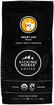 Kicking Horse Medium Roast Whole Bean Kosher Coffee 10 Oz