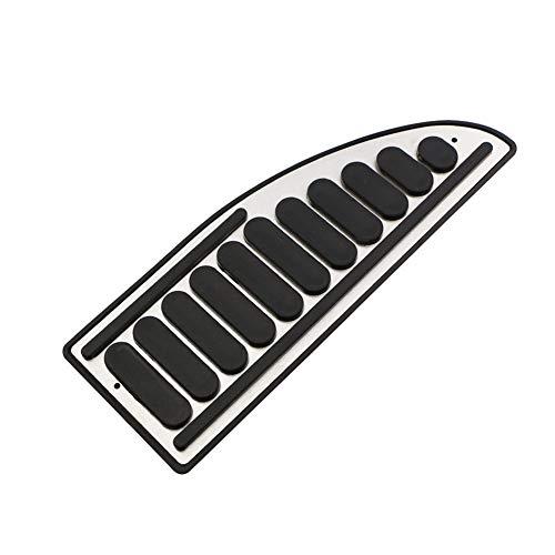 Fußstütze Bremse Pedalkappen,MoreChioce Edelstahl Auto Gas Kraftstoff Pedal Rutschfeste Pedal Cover Bremsen Pad Fuß Pedale Kompatibel mit MK2 MK3 2009-2013 MK4 2005-2011