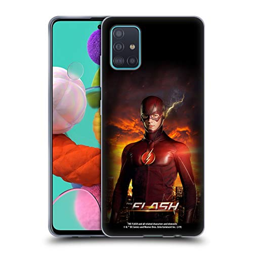 Head Case Designs Oficial The Flash TV Series Barry Stand Pose Póster Carcasa de Gel de Silicona Compatible con Samsung Galaxy A51 (2019)