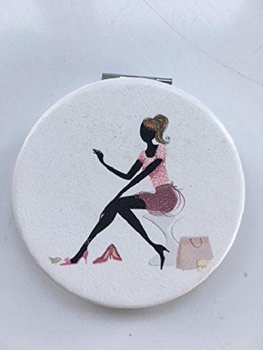 Maranda Elegance Sac à main pratique Miroir compact