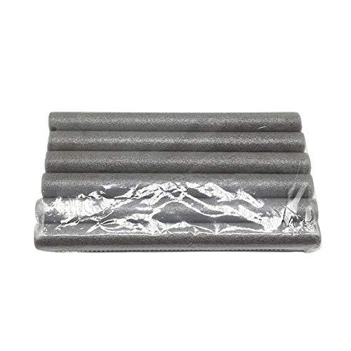 CNmuca Faixa de vedação multifuncional da abertura da porta Faixa segmentada do fundo da porta em espuma EVA Faixa cinza à prova de poeira e vento