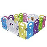 Baby Playpen Kids Activity Centre Safety Play Yard Baby Fence Play Area Ba