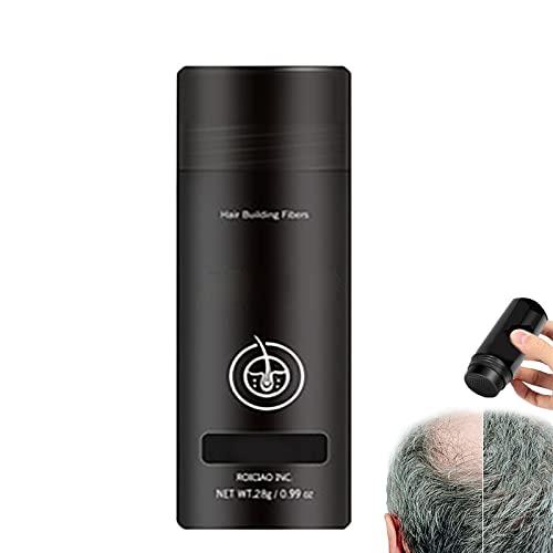 Fluff Up Secret Hair Fibers Powder,Hair Building Fiber Powder,Hair Thickener & Hair Building Fibers,Completely Conceals Hair Loss (Auburn)