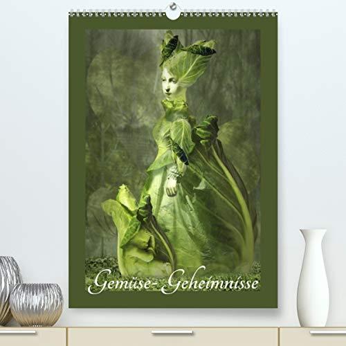 Gemüse-Geheimnisse (hochwertiger DIN A2 Wandkalender 2021, Kunstdruck in Hochglanz)