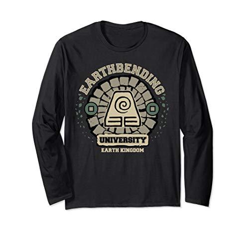 Earth Bending University Logo Earth Kingdom Long Sleeve T-Shirt