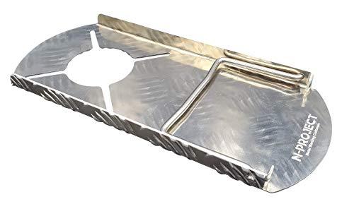 『N-project アルミ縞板 フルカバー遮熱板【SOTO ST-310専用】 (折畳)』の2枚目の画像