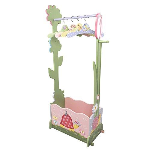 Perchero infantil de madera rosaMagicGarden de Fantasy FieldsW-7482A