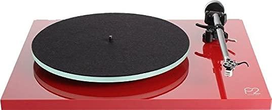Rega Tocadiscos Hi-Fi Planar 2 rojo lacado Carbon mm: Amazon.es ...