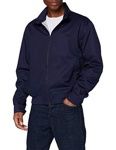 Lacoste Bh5314 Abrigo de Vestir, Azul Marino, 52 para Hombre