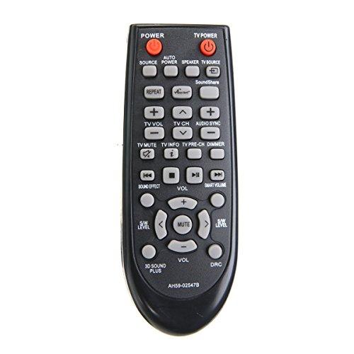 VINABTY Replacment Remote AH59-02547B AH5902547B fit f¨¹r Samsung Soundbar System HW-F450 HWF450