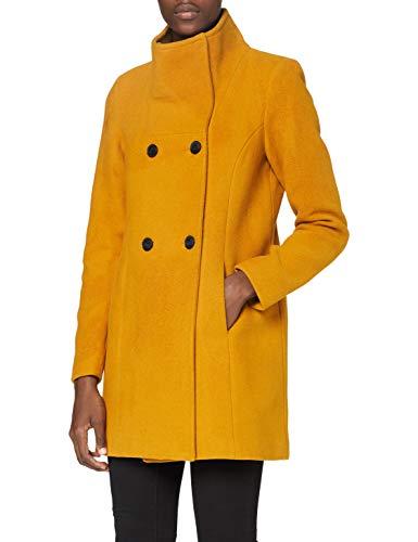 Vero Moda VMCLASSLINE 3/4 Jacket GA Boos Abrigo, marrón (Buckthorn Brown), S para Mujer