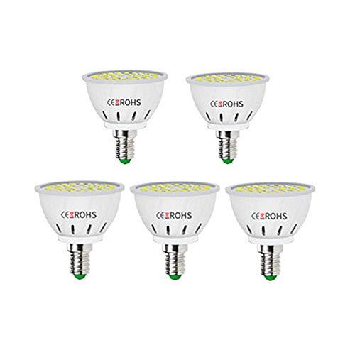 DC CLOUD KüHlschrank GlüHbirne Led GlüHbirne E14 LED-Glühbirne LED-Glühbirnen E14 LED-Glühbirne E14 LED-Glühbirnen für die Innenbeleuchtung e14,cool white-60beads
