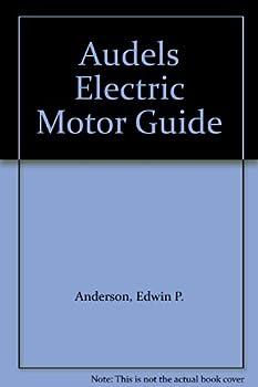 Hardcover Audels Electric Motor Guide Book