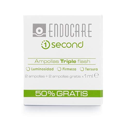 Endocare 1 Second Ampollas Triple Flash 4 Unidades, 4 ml