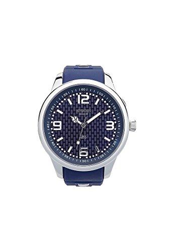 Kyboe Unisex Reloj de pulsera analógico cuarzo One Size, Azul, Azul