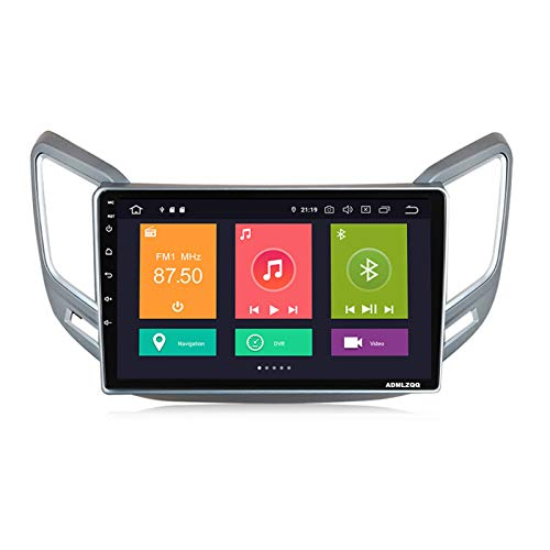 ADMLZQQ 9 Pulgadas Android 10.0 Radio Coche Estéreo Unidad Principal para Changan CS15 2016-2018, Navegación GPS/Bluetooth/FM/RDS/DSP/Cámara Trasera / 4G + WiFi,7862 (8core 4+64g)