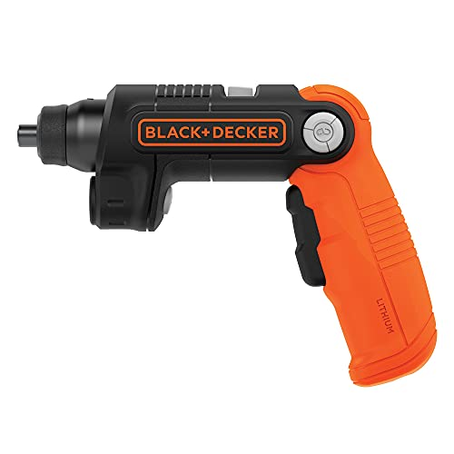 Product Image of the BLACK+DECKER 4V MAX Cordless Screwdriver with LED Light (BDCSFL20C)