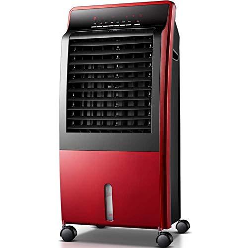 FGA Ventilador móvil Calentador de Ventilador de cerámica oscilante Happy Shopping Refrigerador de Aire Temporizador de 9 Horas y 3 configuraciones de Calor para Uso doméstico y de Oficina