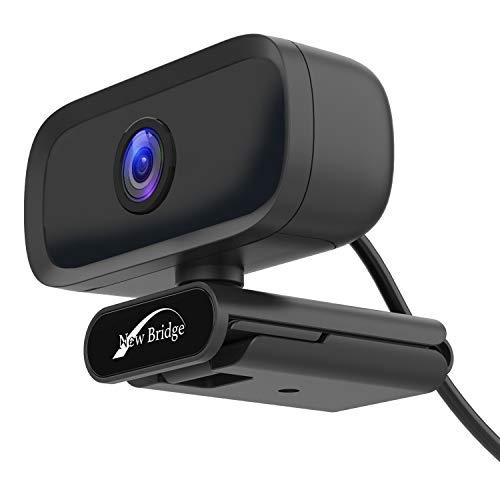 NEWBRIDGE ウェブカメラ 720P HD USB2.0対応 Webカメラ 内蔵マイク Skype対応 100万画素 在宅勤務 リモートワーク PCカメラ NB-01