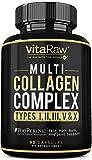 Collagen Pills - Multi Collagen Supplements (Types I, II, III, V & X)