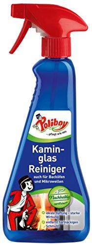 Poliboy - Kaminglas Reiniger - auch für Backöfen, Mikrowellen und Dunstabzugshauben - Sprühmatic 375 ml