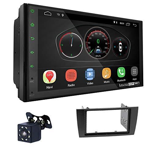 UGAR EX10 7 pollici Android 10.0 DSP Navigazione GPS per Autoradio + 11-154 Kit di Montaggio compatibile per Jaguar X-Type 2002-2008, S-Type 2003-2008