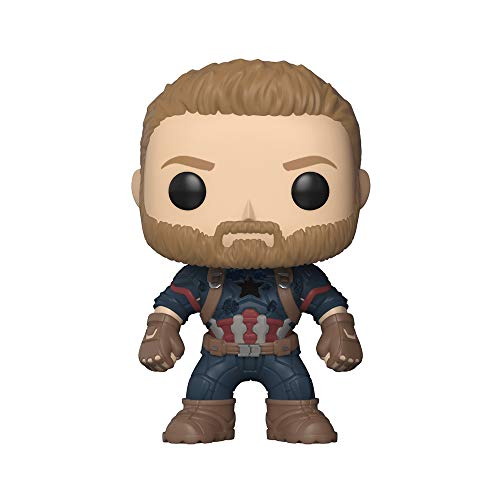 Funko Pop Marvel: Avengers Infinity War - Captain America Collectible Figur
