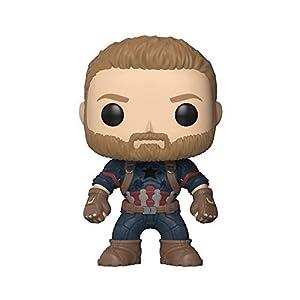 Funko Pop Capitán América (Los Vengadores: Infinity War 288) Funko Pop Capitán américa