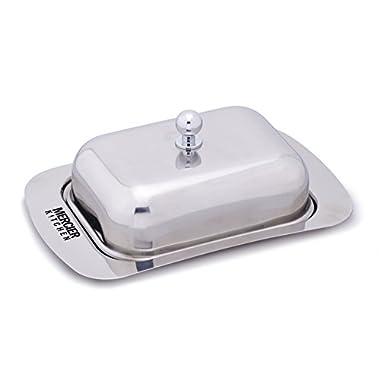 MERCIER Stainless Steel Butter Dish (Stainless Steel Lid)