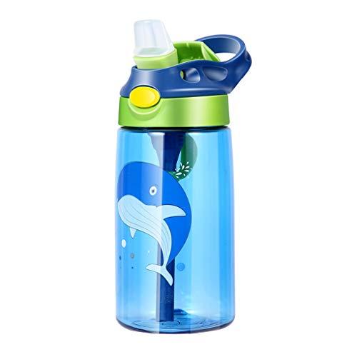 luosh Sippy Cup, Biberon per Bambini, Toddler Cup, 480ML Baby Feeding Cups con cannucce Coperchio Bottiglie d'Acqua a Tenuta stagna all'aperto