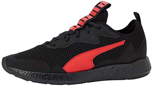 PUMA NRGY Neko Skim, Zapatillas de Running para Hombre, Negro Black/High Risk Red, 42 EU