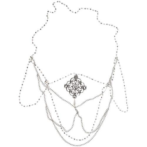 llv Diadema bohemia para novia, accesorios para el cabello