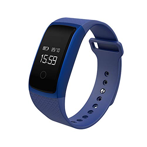 Nieuwe Smart-Watch bloeddruk- hartslaghorloge Riemen. blauw