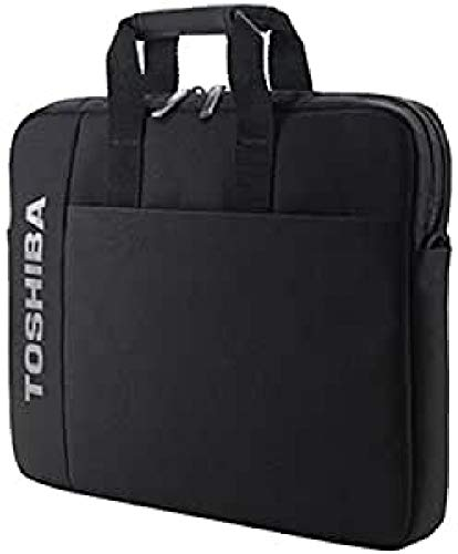 Toshiba Laptop Case 16 inch - 3 Compartments, Padded Lining, Shoulder Strap (For R50/A50/W50/Z50)