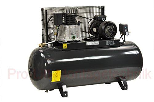 Pro-Lift-Montagetechnik 4kW Kompressor, 11bar, 480L/min, 380V, 270Liter Kessel, schwarz, 00995