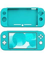 Nintendo Switch Lite Tam Kaplama Turkuaz Silikon Kılıf