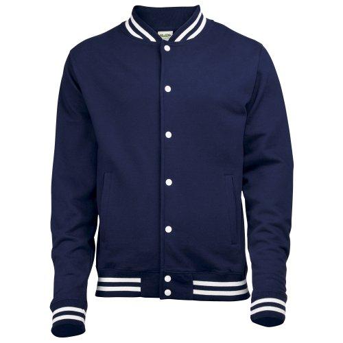 Awdis - Veste - Homme (XL) (Bleu marine Oxford)