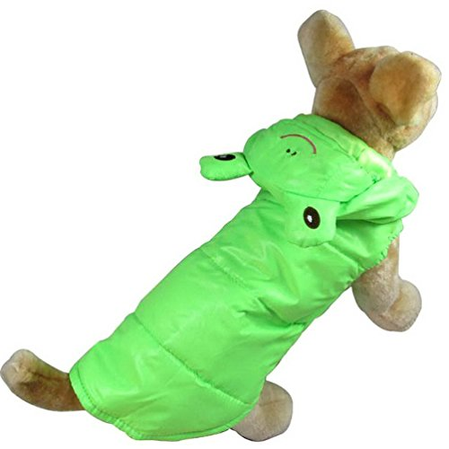 Pegasus Selmai Prince grenouille Costume Medium Dog Trench Vêtements coupe-vent à capuche Costume Manteau d'hiver Veste