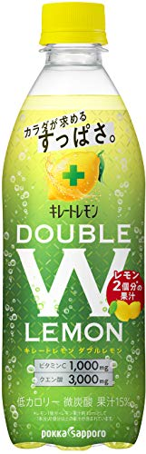 ポッカサッポロ キレートレモンダブルレモン 500ml ×24本