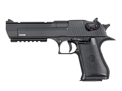 Pack Pistola Airsoft Cyma-CM122S / Plástico de Alta Resistencia/Color Negro/Eléctrico (0,5 Julios)...