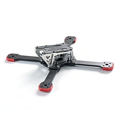 GEHOO GH TransTEC Frog Lite Frame Aluminum Mini 218mm X Quadcopter Frame Kit for DIY RC Racing Drone High-strength Lightweight from GEHOO GH