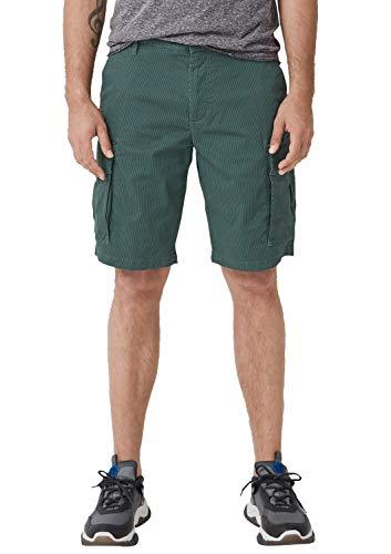 s.Oliver Herren 28.905.74.5201 Shorts, Blau (Petrol 67a1), W(Herstellergröße: 38)