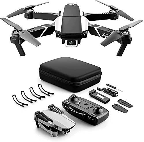 BD.Y Drone, Drone Pieghevole con Fotocamera HD 1080P FPV WiFi RC Quadcopter 30 Minuti di Volo Altitudine Hold modalità Senza Testa Controllo App One Key Return Flip 3D Miglior Drone per Bambini N