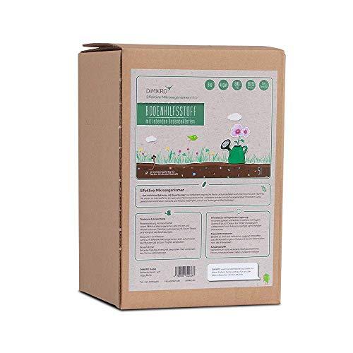 Effektive Mikroorganismen aktiv 5 Liter - EM aktiv - DIMIKRO® Bodenhilfsstoff - Anwendungsfertig für Garten & Landwirtschaft z.B. Bodenaktivator, Kompostbeschleuniger, Pflanzenschutz - 100{ad5cb257f95a92946ee64e0e784c1a93310ead505b8999333873f65e2bb3c7eb} Vegan