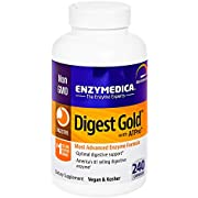 Enzymedica, Digest Gold with ATPro, Daily Digestive Support Supplement with Enzymes and ATP, 240 Capsules (FFP)