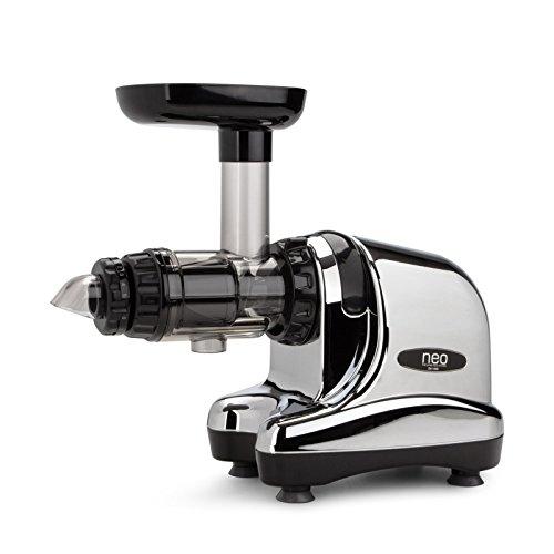 puissant Oscar Neo DA 1000 Juicer-Slow Juicer, Slow Cold Press-Chrome Color