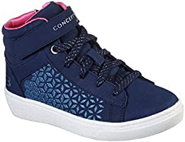 Concept 3 by Skechers Kids' Spendler Lace-up High Top Sneaker